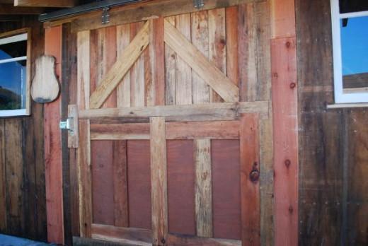 DIY Sliding Barn Door, photo by nickton