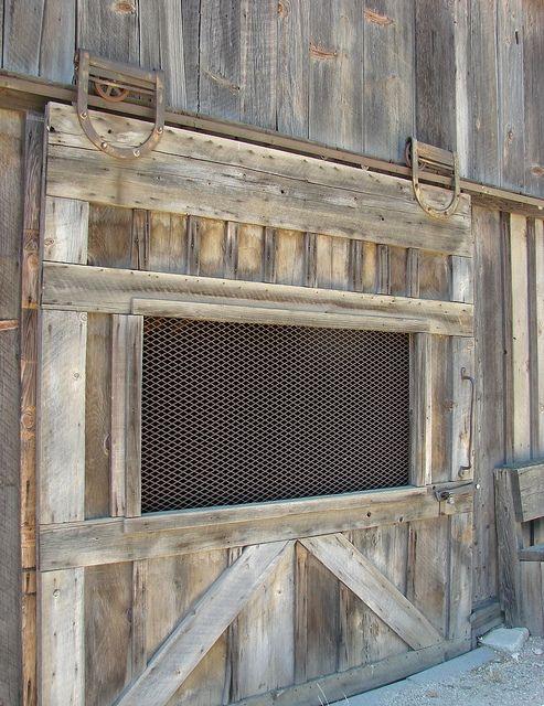 Old Sliding Barn Door, photo by inkknife_2000