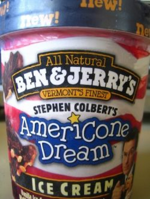 Americone Dream - Stephen Colbert's Ice Cream