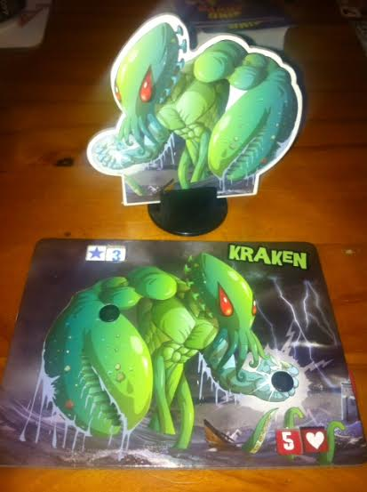 My monster of choice - the Kracken!