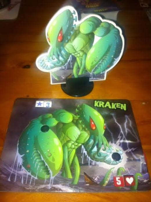 My monster of choice - the Kracken!