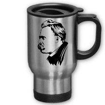 Frederich Nietzsche 'to go' Cup