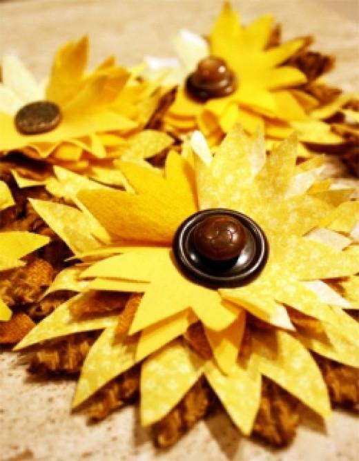 Sunflower for Kansas Day