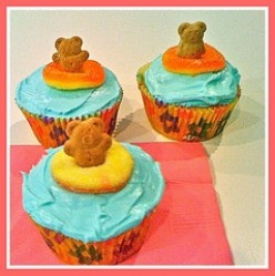 A Swimmingly Cute Cupcake!