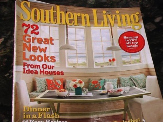 The Southern Living Issue where I found the recipe. I will not take the credit for making it up.