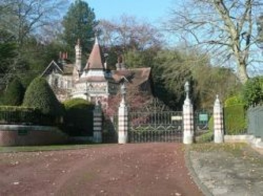 "George Harrison's Home ""Friar Park"""