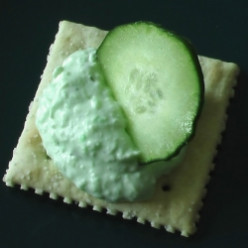 Cool Cucumber Benedictine Appetizer Recipe