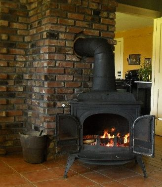 Bed and Breakfast with a Woodstove