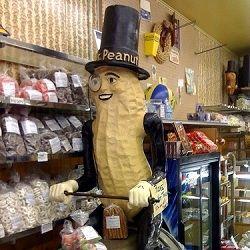 At the Peanut Shop in Lansing, MI.
