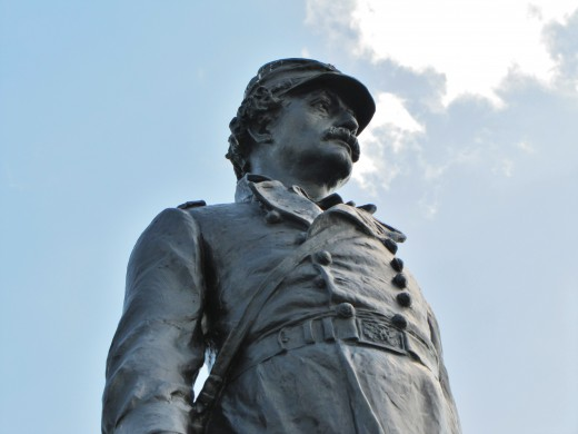 Statue at Gettysburg.