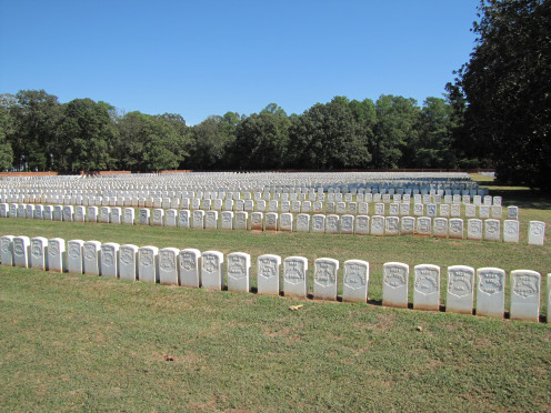 The many who did not survive the brutal conditions are buried close by in what is now a national cemetery.