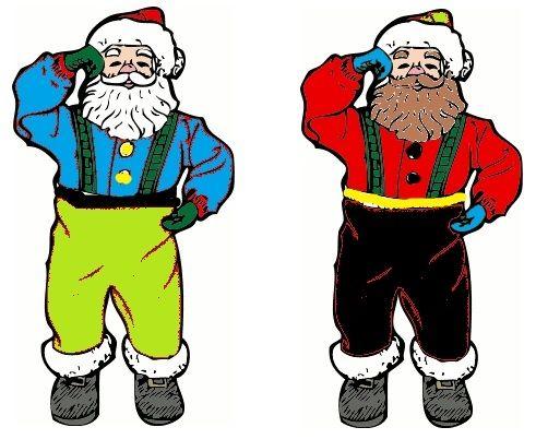 Santa Glyphs